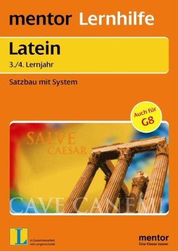 Mentor Lernhilfe Latein. Satzbau mit System.