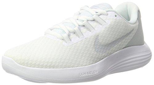 Nike Wmns Lunarconverge, Scarpe Running Donna, Multicolore (White/Pure Platinum/Wolf Grey 100), 36.5 EU