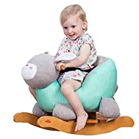 YUMEIGE Rocking Horses Infant Rocking for 1-6 Year Old Child Gift,rocking Zebra Winter Indoor Swing Toy, Warm,rocking Horse 12.9 × 23.6 × 18.1inch Bunny Rocking Chair Blue