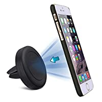 Car Phone Holder, PEMOTech Phone Holder for Air Vent, Magnetic Cradle Car Mount Dock Holder for iPhone 7/ 7 Plus ,iPhone 6S/ 6S Plus, iPhone 6/ 6 Plus, iPhone 5/ 5S/ 5C/ 4/ 4S , Samsung Galaxy S8/S6/ S5/ S4, Galaxy Note 4/3/2 , Google Nexus, LG G3 and More Smartphone or GPS Device