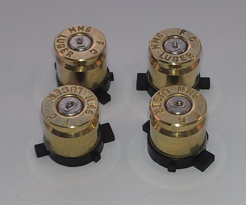 Sony PS3 Bullet Action Buttons, Bullet Casing Buttons for PS3 controller