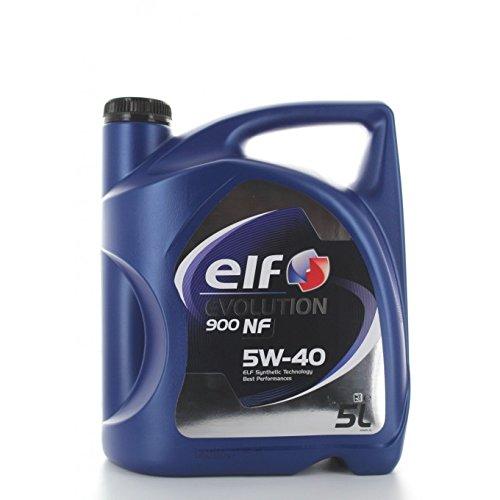 Aceite de Motor Elf Evolution 900NF 5W-40, 5l