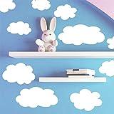 Fluffy Cloud Wall Decals -Baby Nursery R...