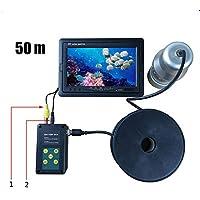 CM Cámara de Detector de Pesca, Detector de Peces portátil, con Monitor LCD de