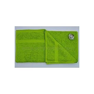 Aquanatura Organic Cotton Bath Towel - Green Anise