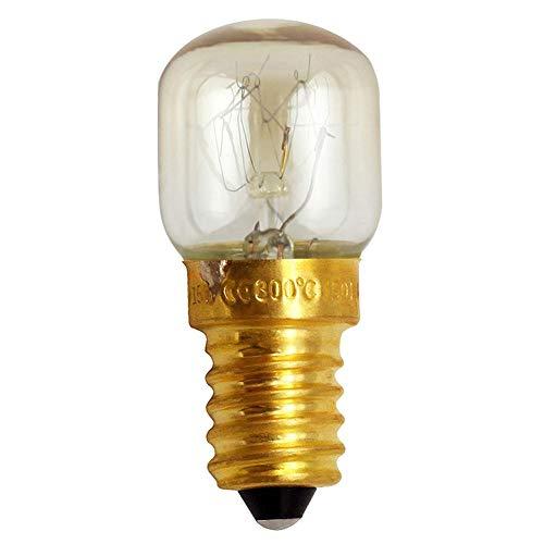 AIMERKUP Amierkup Mikrowellenlampe, 4 Stück, hitzebeständig, 300 Grad Celsius E14, Baby - Jungen, 15 W