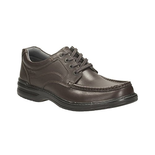 Clarks Keeler Walk Brown Leather 7½ UK H / 41½ EU