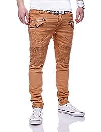 MT Styles style biker Jeans Slim Fit pantalon homme RJ-3192