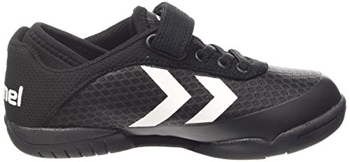 Hummel Hummel Root Play Velcro Jr, Chaussures indoor mixte enfant Noir (black 2001)