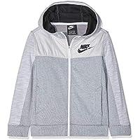 Nike B NSW FZ Advance Chaqueta, Niños, (Birch Heather/Pure Platinum), XS