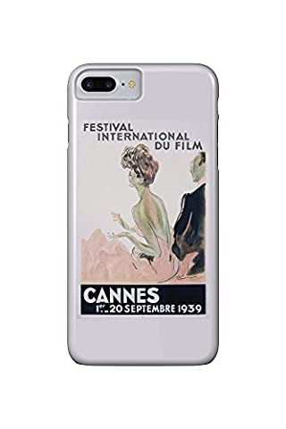 France - Cannes - Festival International du Film - 1939 - (artist: Domergue c. 1939) - Vintage Advertisement (iPhone 7 Plus Cell Phone Case, Slim Barely There)