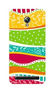 SWAG my CASE Printed Back Cover for Asus ZenFone Go
