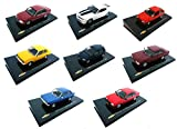 OPO 10 - Lot de 8 Voitures Miniatures Chevrolet 1/43 (CH01-02-05-07-08-09-11-14)