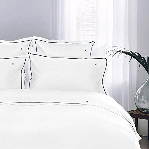 ako-Satin Bettwäsche White 1 Bettbezug 135x200 cm + 1 Kissenbezug 80x80 cm ()