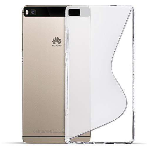 Conie Rückschale für Huawei Ascend Y550 - Silikon Schutzhülle im S-Line Design Hülle aus TPU, Kratzfest Kantenschutz, Huawei Y550 Handyschale