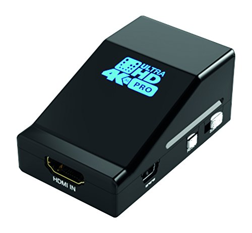 HDFury HDF0081-1 4K UltraHD HDMI Splitter PRO - 1x HDMI-A auf 2x HDMI-A, inkl. Scaler, Auflösungen bis 4K / UltraHD / 2160p