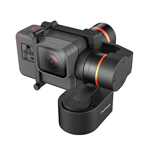 Hohem 3 Achsen Gimbal Tragbarer Stabilisator für GoPro Hero 7/6/5/4/3 Steady Kamera für Fahrrad/Helm/Auto Montage Gimble für Action-Kamera (XG1)