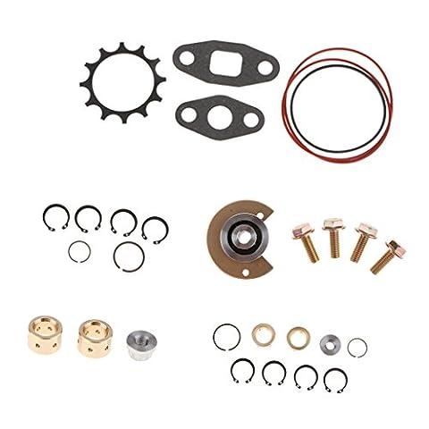 Gazechimp Kit de Réparation Turbo Rebuild Pour Garrett T3 T4 TB03 T04B T04E