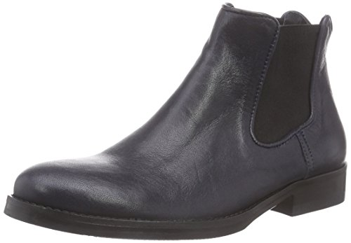 MENTOR Mentor Damen Chelsea Boots Blau (Navy Leather)