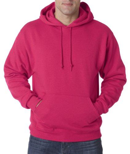 Wei§er Fu§ball auf American Apparel Fine Jersey Shirt Rosa (Cyber Pink)