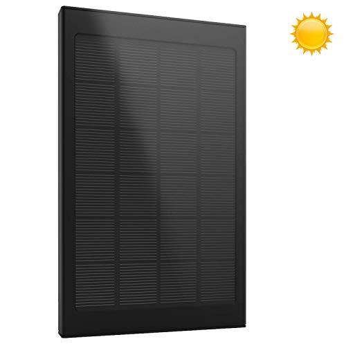 Carga de energía limpia    Con una mayor eficiencia, los paneles solares podrían convertir hasta 23% de energía solar en energía suficiente para cargar los dos dispositivos con las 2 salidas USB a un total de 4.8A. El dispositivo podría cargar sus...