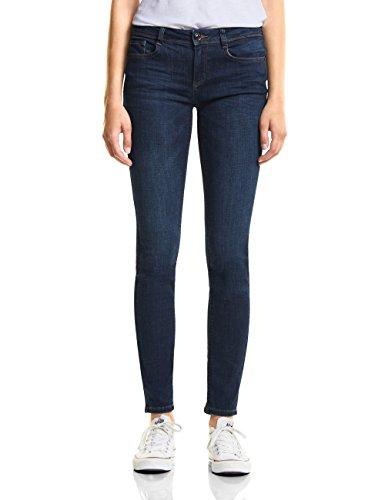 Street One Damen Slim Jeans 371608 York, Blau (Blue Clean Wash 11519), W31/L32 (Herstellergröße: 31)