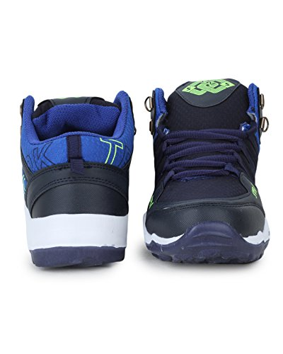 TRASE SRV Kids/Boys Mirage Navy/Sky Blue Sports Running Shoes