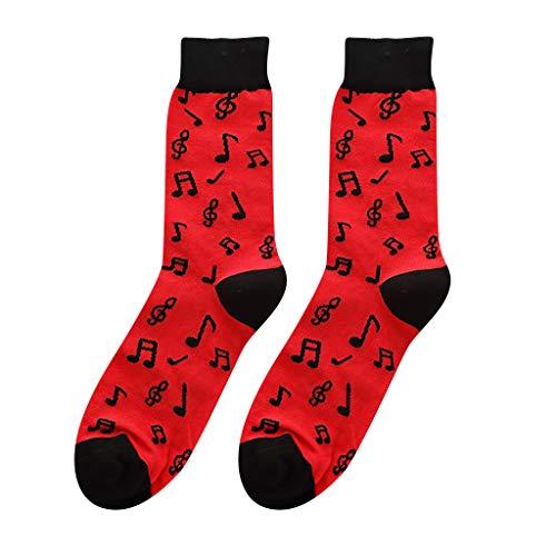 Xshuai  Kleid Socken, Cotton Warm Bunte Casual Cotton Fashion Gemusterte Socken - Farbe Baumwolle Kleid Socken