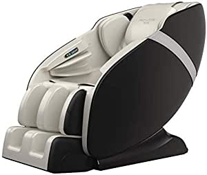 KARMA® Fauteuil de massage - Blanc (nouveau modèle 2021) - Garantie Officielle 2 ANS GLOBAL RELAX®