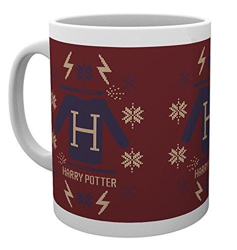 GB Eye, Harry Potter, Jersey de Navidad, Taza