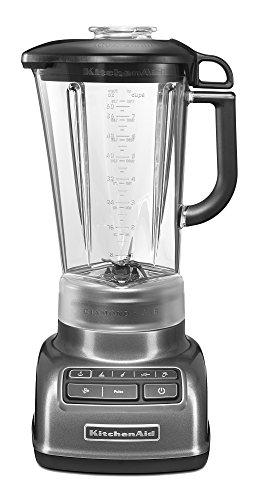 Kitchenaid 4 Speed 5ksb1585dqg 1.7 Litre 550 W Diamond Blender With Recipe Book (premium Colour - Liquid Graphite)