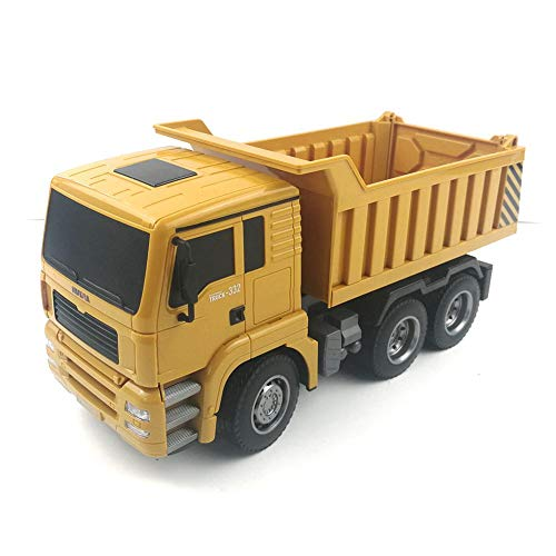 RC Auto kaufen LKW Bild 2: RC-Muldenkipper, 1:16 Allradantrieb-Fernbedienung Muldenkipper-LKW, Schweres Baufahrzeug, Hobby-Spielzeug - Geschenk Für Kinder By globalqi*