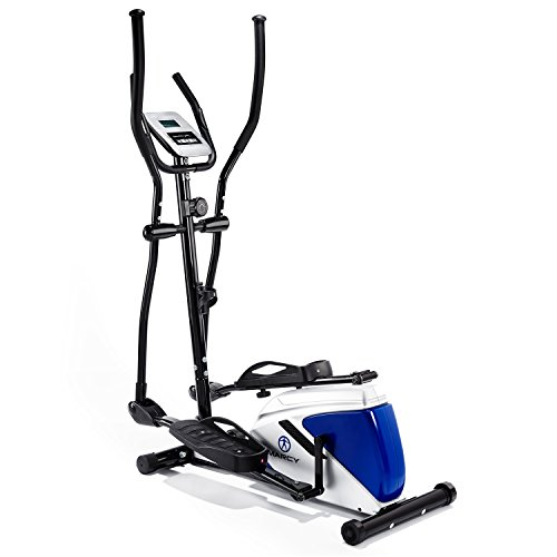 Marcy Azure EL1016 Elliptical Cross Trainer - Black/White/Blue, One Size