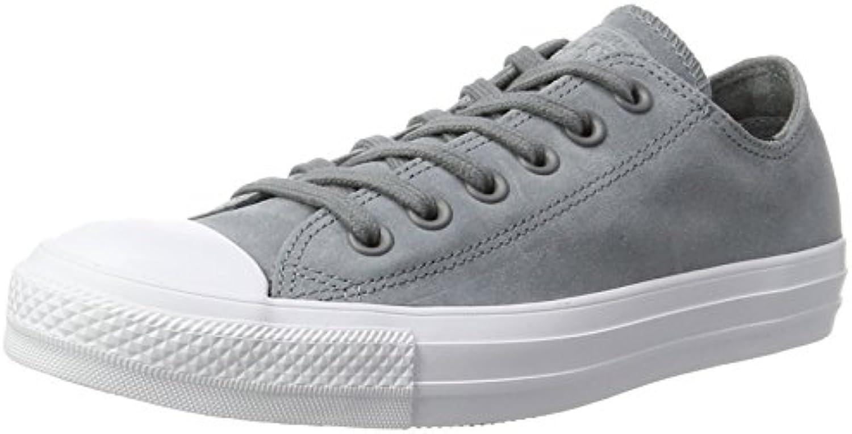 Converse Unisex Erwachsene CTAS OX Cool Grey/White Sneaker