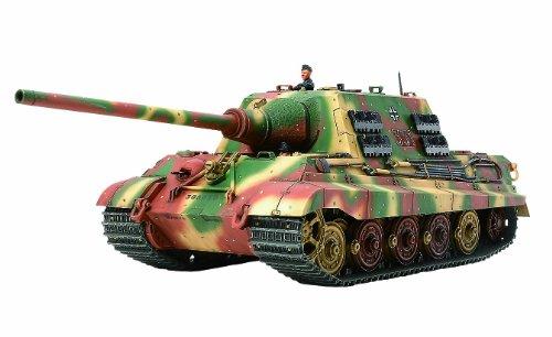 TAMIYA 300032569 - WWII schwerer Deutscher Panzer Jagdtiger, frühe Produktion. 1:48