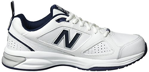 New Balance Mx624wn4 B Training, Chaussures Multisport Outdoor Homme Multicolore (White/navy)
