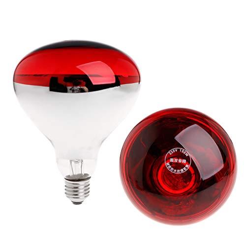 Lampada per riscaldamento pulcini, suini cuccioli 150 watt raggi infrarossi