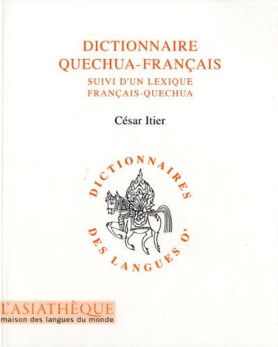 Dictionnaire quéchua-français