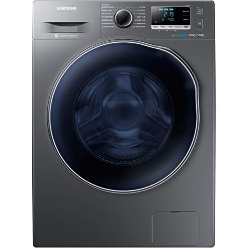 Samsung WD80J6A10AX A Rated Freestanding Washer Dryer - Graphite