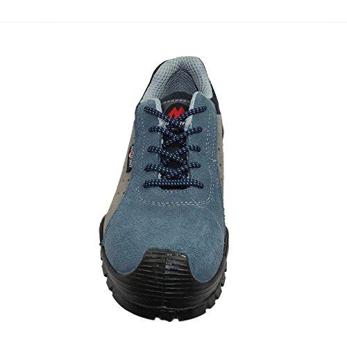 Aimont victor s1P sRC chaussures de sécurité berufsschuhe 00823 chaussures plates Bleu