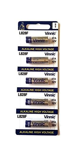 Pile 27A vinnic Haute Voltage 5 pièces 12v