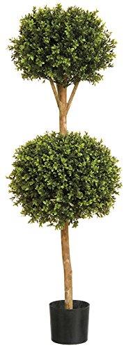 Künstlicher Buchsbaum Buxus 1.22 meters (), Buchsbaum, echtes Holz, Truhe, für den Gebrauch im Freien geeignet