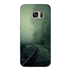 Impressive Fog Track Back Case Cover for Galaxy S7