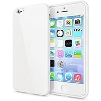 delightable24 Protezione Cover Case in Silicone TPU Jelly per Smartphone APPLE IPHONE 6 / 6S - Bianco