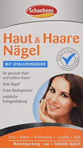 Schaebens Haut und Haare Nägel Tabletten, 1er Pack (1 x 30 Stück)