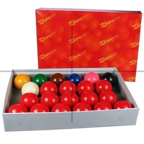 ClubKing Ltd 22-Kugel-Snooker-Set, 52,4mm