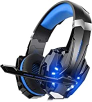 Mahmayi G9000 - Headband Headphones for One S / One / PS4 / tablet / laptop / mobile phone (0.138 in stereo ja