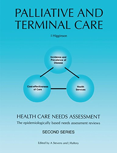 Health Care Needs Assessment: The Epidemiologically Based Needs Assessment Reviews: Palliative and Terminal Care - Second Series (Health Care Needs Assessment Second)