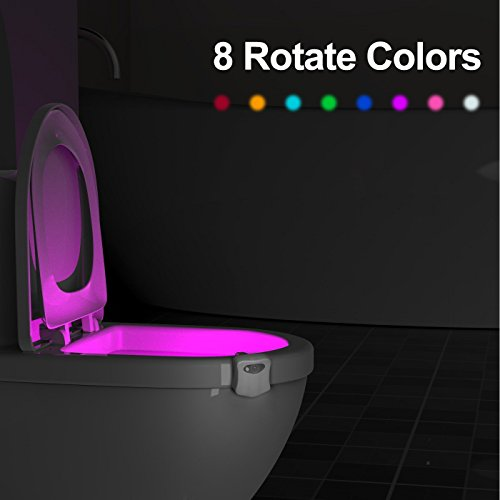 lampe toilette veilleuse led d tecteur de mouvement eclairage lampe toilette wc led pour salle. Black Bedroom Furniture Sets. Home Design Ideas