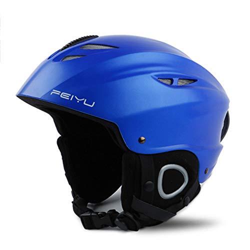 TOOSD Ski/Doppel Furnier Bord Helm Race Edition Erwachsene Ski Helme Für Männer Und Frauen Kinder Helme Schutzausrüstung Snowboard Ausrüstung Einstellbar,C,M
